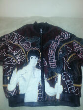 Al Wissam pelle pelle Bruce lee leather jacket sz 54