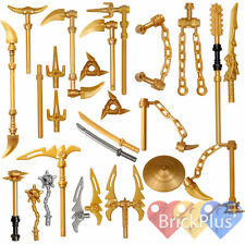 LEGO Ninjago Set/21 Golden Weapons - Spinjitzu weapons Shuriken Dragon Sword