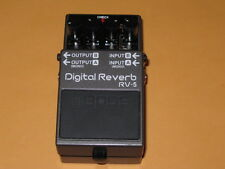 used (light average wear) Boss RV-5 Digital Reverb no box, no pw & no battery