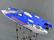 30CC DT Tiger Shark Catamaran Gas RC Boat Remote Control High Speed Racing Boat