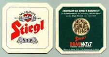 sehr schöner alter Bierdeckel Salzburger Stiegl Bier 1        A