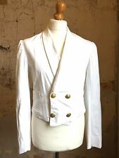 Gieves Savile Row 1940's ww2 naval tropical mess jacket size 38