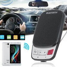 Portable Multipoint Wireless Bluetooth Handsfree Car Sun Visor Speaker Phone QT