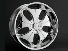 22 inch Pasha Dvinci Wheels rims&Tires fit chevy 6 lug Truck or SUV Special Deal