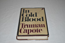 IN COLD BLOOD Truman Capote 1965 HCDJ 1ST EDITION 5TH PRINT w/ Dustjacket RARE!