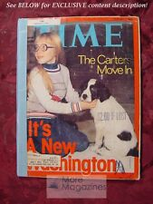 TIME magazine February 7 1977 Feb 2/7/77 THE CARTERS MOVE IN +++