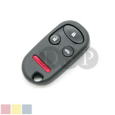 Remote Key Case fit for HONDA CRV S2000 Insight Prelude Replacement Fob 4 Button