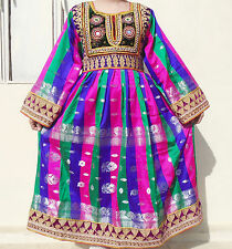 Kuchi Afghan Banjara Tribal Boho Hippie Style Brand New Ethnic Dress ND-190