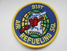 usaf  America air force squadron cloth patch  91st air refueling sq  [ 9cm ]