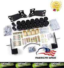 "2001-2002 Chevrolet Silverado GMC Sierra 1500 3"" Zone Offroad Body Lift Kit"