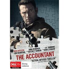 THE ACCOUNTANT-Ben Affleck-Region 4-New AND Sealed