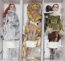 Tonner Wizard of Oz*Ladies of Oz*Set of 3*16in Oz Inspired Fashion Dolls all NEW