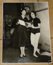 MARGOT FONTEYN BEAUTIFUL VINTAGE ORIGINAL PAUL WILSON 1953 PRESS PHOTOGRAPH