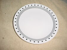 CORELLE CITY BLOCK LUNCH / SALAD PLATES 8.5 INCH X 4 BRAND NEW FREE USA SHIPPING
