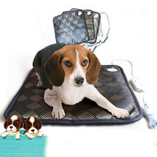 Waterproof Pet Warm Electric Heated Heating Heater Pad Mat Blanket Bed Dog