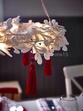 IKEA Strala Hängeleuchte LED Kranz Pendelleuchte Weihnachtsdeko Licht Leuchte