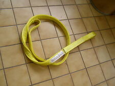 NYLON SLING EE4-902x10' TOW DOLLY AXLE STRAPS SHACKLE LIFTING TOW CLEVIS