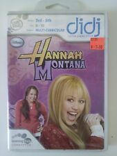 Hannah Montana Leapfrog (Didj, 2008) 3rd-5th Math, Spelling, Vocabulary NIP