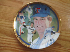 "NOLAN RYAN - 1993 SPORTS IMPRESSIONS/HAMILTON COLLECTION 7"" PLATE"