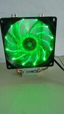 Needcool Ice Tower 200 CPU COOLER 92MM Green LED Fan & Dual Heatpipe Heatsink