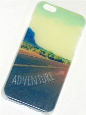 "GLOW IN THE DARK CASE APPLE IPHONE 6 4,7"" ADVENTURE SCHUTZHÜLLE COVER NEU"