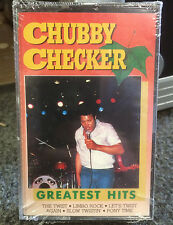 Chubby Checker Greatest Hits Cassette Tape 1988 The Twist Lets Twist Ever Green