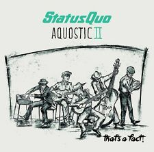 STATUS QUO - AQUOSTIC II-ONE MORE FOR THE ROAD   CD NEU