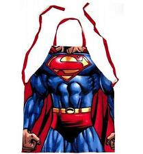 ADULTS OFFICIAL DC SUPERMAN FABRIC APRON - BRAND NEW GREAT GIFT
