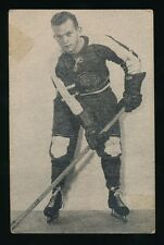 1952-53 St Lawrence Sales (QSHL) #12 WALTER CLUNE (Montreal) -Canadiens