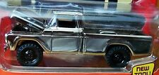 JOHNNY LIGHTNING 59 1959 FORD F-250 PICKUP TRUCK CHROME CLASSIC GOLD BLK WLS RRs
