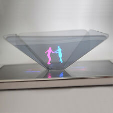 3D Newest Holographic Display Pyramid Projector for 3.5''~6.5'' Smart Cell Phone