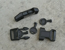 "Black Plastic Handcuff Key Paracord Buckle 5/8"" Survival Tactical"