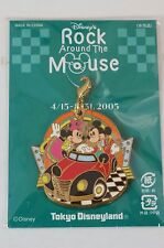 Tokyo Disney Resort Event Pin Charm ROCK Around The MOUSE 2005 TDR JAPAN