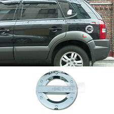 Chrome Fuel Cap Cover Garnish Molding Trime For HYUNDAI 2005-2009 Tucson