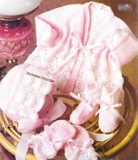 BABY JACKET,BONNET,MITTS & BOOTEES / 4ply- COPY baby knitting pattern