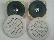 Speakers and Speaker Covers for Arcade & Pinball machines 4 Inch 8 ohm 5W SET 2