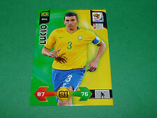 LUCIO PANINI FOOTBALL FIFA WORLD CUP 2010 CARD ADRENALYN XL