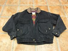 LEVI'S VINTAGE WESTERN WEAR DISTRESSED DENIM LINED JACKET M. 39-41