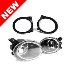 01-06 BMW E46 M3 Clear Front Bumper Fog Lights w/ Covers