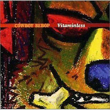 Cowboy Bebop VITAMINLESS SOUNDTRACK CD No Disc NEU Yoko Kanno