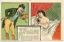E.J.R.PARIS .Erotique. Prostituée .  téléphone . Prostitute . Old phone . Erotic