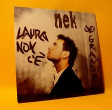 NEW Cardsleeve Single CD Nek Laura Non C'è / Sei Grande 4TR 1997 Pop Rock