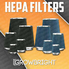HEPA AIR FILTER Grow Tent Intake Odor Control Dust Organic Shroom Freshmaker NEW