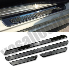 4 Door Sill Carbon Fiber Car Scuff Plate Cover Panel Step Protector For VW Jetta