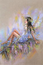 LITTLE FLOWER FAIRY * QUALITY CANVAS ART PRINT