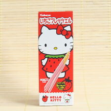 Japan Sanrio HELLO KITTY STRAWBERRY Chocolate pocky Japanese Candy ichigo sticks