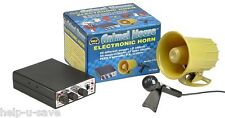 Wolo 345 Horn Novelty Horn Animal House 69 Sounds P.A.Function 12 V 105 dB Kit