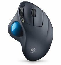 Wireless Mouse Cordless Track Ball PC Mac Logitech Trackball Ergonomic Computer