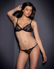 AGENT PROVOCATEUR LARETTA BRA AND THONG SET SIZE 36C LARGE / 4 / 12-14 BNWT