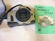 Canon EOS IX APS SLR Film Camera Body Only Instruction Book C24-5